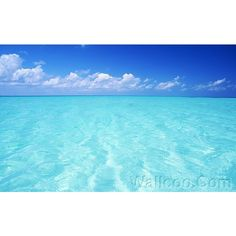 Maldives photos: Turquoise Sea and blue sky , Biyadoo Island Resort,... ❤ liked on Polyvore