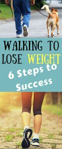 Walking to Lose Weight- 6 Steps to Success | FHL