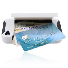 STOWAWAY Credit Card Case with Integrated Stand for iPhone 4/4s