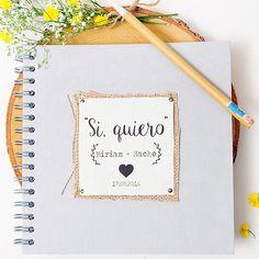 Imprescindibles en tu boda: Libro de firmas / Album