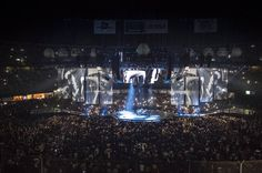 """howardswife: """"MUSE 360 stage (I don't own the credits to those pics) """""""