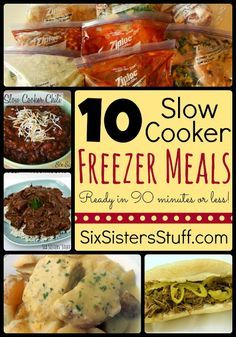 20 Best Tasting Slow Cooker Freezer Meals