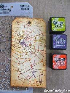 One Lucky Day: Tim Holtz Media Team - Trick or Treat