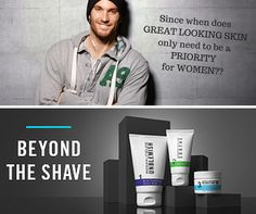 """Giving your skin some lovin' is not something only designed or specific to women.  More and more men are recognizing how important it is to care for their skin, and that although genetics plays a huge factor in so much of our health, when it comes to your skin, WE PLAY A HUGE FACTOR in it!  Today I'm showcasing  """"Mens Beyond the Shave"""" but for any men that would like to find out more about what is best for their skin we can absolutely help and advise!    FIRST 2 INDIVIDUALS that respond to…"""
