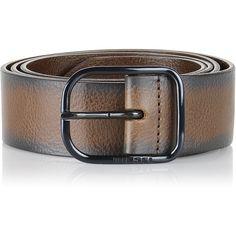 Diesel B-FADE Belts ($108) ❤ liked on Polyvore featuring men's fashion, men's accessories, men's belts, belts, men, mens genuine leather belts, mens belts, diesel mens belt and mens leather accessories