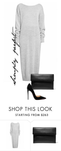 """Untitled #509"" by lionfishka ❤ liked on Polyvore featuring Marni and Christian Louboutin"