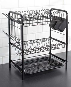 Amazon Drying Rack Dazone 3 Tier Dish Drying Rack Drainer Dryer Tray Kitchen Drying