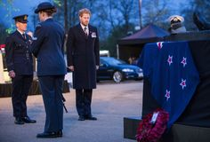 Prince Harry attended a poignant ANZAC Day service at Hyde Park Corner. (MOD/Sergeant Rupert Frere RLC)
