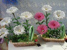 Деревья и цветы из бисера. Продажа.