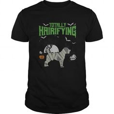 Halloween uncle shirt gift for you family or your friend Totally Hairifying Frightening Mummy Beagle Halloween Tees Tee Shirts T-Shirts