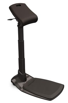 The best adjustable standing desk seat. The LeanRite Elite. Standing Desk Chair, Best Standing Desk, Standing Desks, Sit Stand Desk, Sit To Stand, Improve Posture, Chair Design, Stool, Good Things