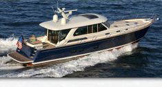Sabre Yachts: Luxury Motoryachts Crafted in Maine House Yacht, Family Boats, Motorboat, Deck Boat, Below Deck, Floating House, Yacht Boat, Super Yachts, Boat Design