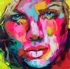 Paintings of Françoise Nielly