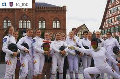 #Repost @fc_tbb with @repostapp ・・・ #fencingmob15 TAUBERBISCHOFSHEIM is in! So much fun, thanks @federscherma and Special Credit to @sandronoto #fechten #fencing #escrime #scherma #esgrima #taubertal #tauberbischofsheim #athletes #fechter #fencingmob #flashmob #fun #city #stadt #markt Thanks to all participants of our club - Athletes, Coaches (@andrea_magro61 / @simonecappelletto / @danielherold78 and Micha Hauptmann) for the permission