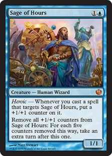 MTG  Journey into Nyx Spoiler - Sage of Hours