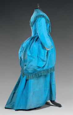 Afternoon dress ca. 1870From Thierry de Maigret