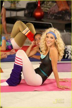 Halloween Costume Idea - 80s Workout Heidi Montag | AHHHH!!!!!