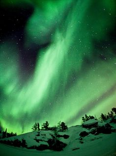 Northern Lights - Fisheye lense.That is so beautiful.Please check out my website thanks. www.photopix.co.nz