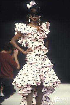 Katoucha Niane   Emanuel Ungaro, Spring-Summer 1992, Couture