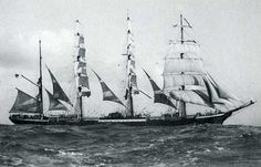 """Pamir"", tall ship and cargo"