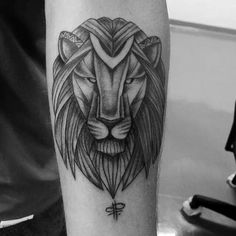 lion tattoo by fernanda prado #tattoo #fernanda #prado #fernandaprado #lion