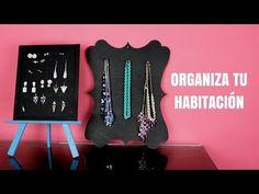 Organiza tus accesorios / Ideas para organizar tu habitación - Hablobajito - YouTube
