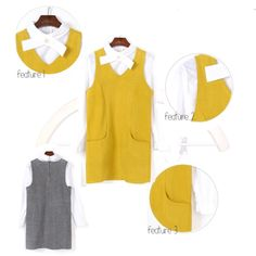 C 0 0 2 a | Price (RM): 75 | Color: Yellow / Grey | Size: S / M / L | Postage: Inclusive | Click the picture for more details 2 In, Color, Fashion, Colour, Moda, La Mode, Fasion, Colors, Fashion Models