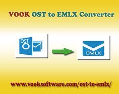 #OSTtoEMLXConverter Easily Export Outlook OST to Apple Mail EMLX Format.