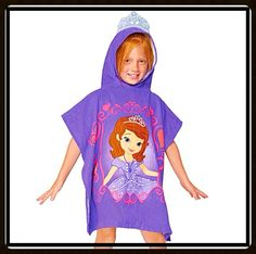Sofia the First Hooded Towel.
