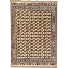Bokhara Cream Area Rug