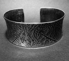 LOVE YOURSELF HONOR YOURSELF cuff bracelet, sterling silver JANE EDBERG copyright 2015