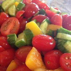 Tomato and Pepper Salad - Allrecipes.com