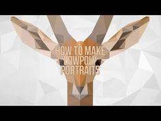 How to make a LowPoly Portrait - Photoshop Photoshop Illustrator, Illustrator Tutorials, Art Tutorials, Design Tutorials, Design Ideas, Photoshop For Photographers, Photoshop Photography, Photography Shop, Photography Tricks