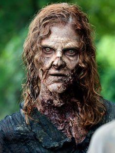 AMC`s The Walking Dead Season 4 Walker