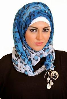 Arabic Hijab Styles for Muslim Girls 2015 Arab Girls Hijab, Girl Hijab, Muslim Girls, Muslim Women, Beautiful Hijab, Celebs, Celebrities, My Beauty, Hijab Fashion