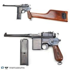 Summon this (or something like it) on amazon.com: http://amzn.to/1MnNAqJ #Repost @nramuseums Gun of the Day - Schnellfeuer Machine Pistol (Mauser 712) While this stocked pistol may resemble the classic Mauser M1896 Broomhandle the aptly named Model 712 Schnellfeuer (Fast-fire) pistol is a selective-fire machine pistol. This pistol featured a removable stock as well as a detachable magazine capable of holding 20 rounds of 7.63mm ammunition. The Schnellfeuer was capable of firing at a 900…