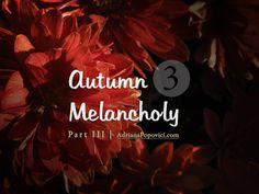 Autumn Melancholy Series - part 3 Melancholy, Autumn, Illustration, Artwork, Movie Posters, Work Of Art, Fall Season, Auguste Rodin Artwork, Film Poster