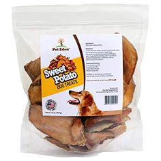 Sweet Potato Dog Treats Made in USA Only by Pet Eden Best Grain Free Natural Healthy Chews for Dogs 1 lb Free of Fillers No Additives No Preservatives Premium Quality Gourmet Snacks for All Dogs -- Details can be found by clicking on the image. Sweet Potato Dog Treats, Sweet Potatoes For Dogs, Best Hypoallergenic Dogs, Compare Dog Food, Halloween Treats For Kids, Best Dog Toys, Dog Food Brands, Dog Diet, Natural Dog Treats