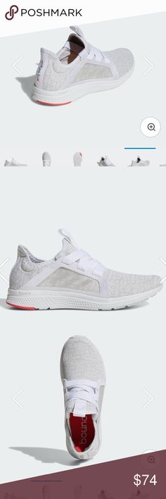 Brand New Adidas Edge Lux Brand new Adidas Edge Lux women's shoes. Authentic, new and amazingly comfortable! These are a size 5.5, but they run a half size big so they fit like a size 6. Retails for $85 on the website! adidas Shoes Athletic Shoes