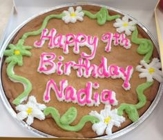 Happy Birthday Nestle Nestletollhousecafe Nestletollhouse Cookie Cake Cookiecake Yum