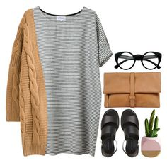 """""""-"""" by emilypondng ❤ liked on Polyvore featuring MM6 Maison Margiela, Retrò and easypeasy"""