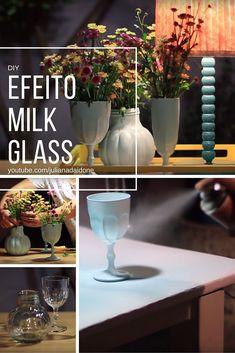 O efeito milk glass é obtido de forma fácil e rápida. Aqui eu dou o passo a passo e algumas dicas. Assista o video com esse diy e faça você…