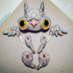 Almost there!#handmade #artdoll #wip #griffin #artflection
