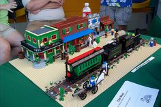 Wild West Lego Creations, Old West, Poker Table, Past, Transportation, Art Projects, Education, History, Children