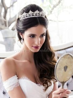Image result for tiara hairstyles