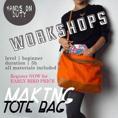 making tote bag
