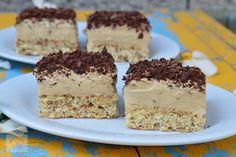 Prajitura cu nuca si crema de ness - CAIETUL CU RETETE Dessert Cake Recipes, Food Cakes, Panna Cotta, Deserts, Food And Drink, Pudding, Sweets, Candy, Dinner