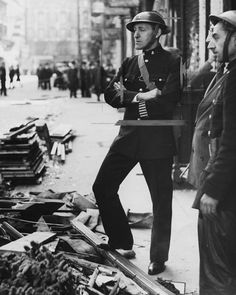 British actor Jack Hulbert (1892-1978) pictured on duty as an air raid warden during World War Two, London, September 21st 1940. (Photo by Paul Popper/Popperfoto/Getty Images)