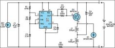 12V Lead Acid Battery Desulphator Circuit