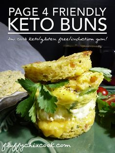 """Keto Buns – Gluten Free, Low Carb * Induction Friendly* 1 net carb..""""Keto Buns remind us a lot of the sourdough texture found in Scholtsky's Sourdough Buns."""" Microwave, OMM"""